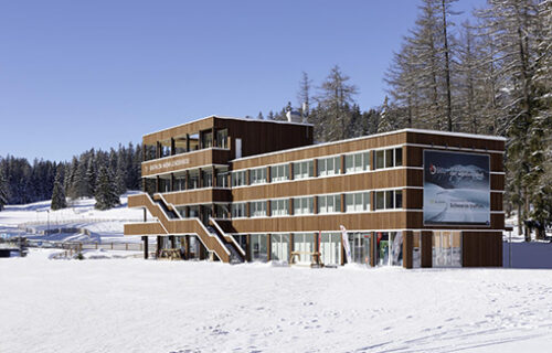 Biathlon Arena Lenzerheide - durch Invias im Elementbau realisiert