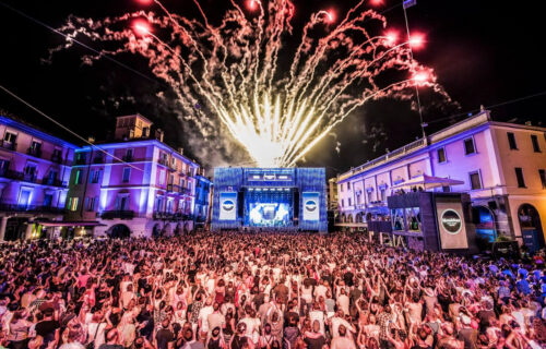 QUADRIN-Event: Moon & Stars Festival in Locarno.
