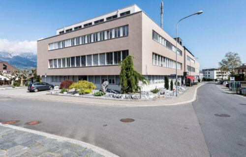Zentrum Neuhof nach dem Umbau durch Invias.