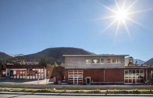 Wohn- und Geschäftshaus Salzgeber, Davos GR